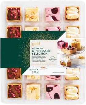 Gold-Indulgent-Mini-Desserts-Pk-20 on sale