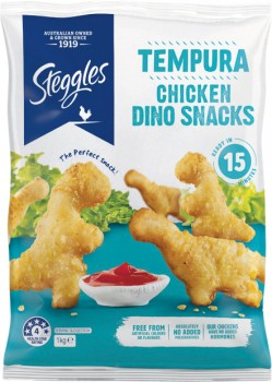 Steggles-Chicken-Dino-Snacks-1-kg-From-the-Freezer on sale