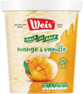 NEW-Weis-Half-and-Half-1-Litre on sale