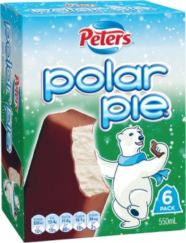 Peters-Monaco-Bar-420ml-Pk-4-or-Polar-Pie-550ml-Pk-6 on sale