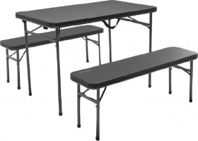 Oztrail-Ironside-Picnic-Table-Set on sale