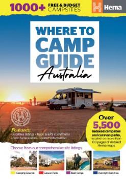 Hema-Where-To-Camp-Guide-Australia on sale