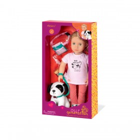 Our-Generation-Hazel-and-Dog-Doll on sale