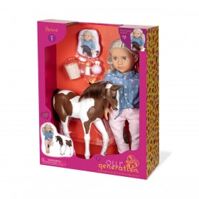 Our-Generation-Yanira-with-Foal-Doll on sale