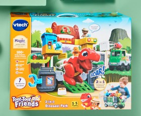 NEW-Vtech-2-In-1-Dino-Park on sale