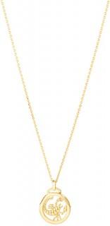 Scorpio-Zodiac-Pendant-with-Chain-in-10ct-Yellow-Gold on sale