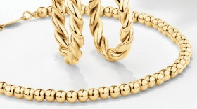 NEW-19cm-Bead-Bracelet-in-10ct-Yellow-Gold on sale