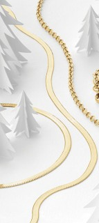 NEW-Herringbone-Chain-in-10ct-Yellow-Gold on sale