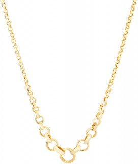 45cm-17-Graduated-Belcher-Chain-in-10ct-Yellow-Gold on sale