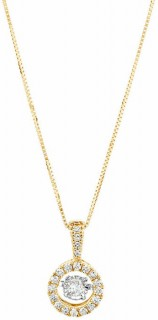 Everlight-Pendant-with-14-Carat-TW-of-Diamonds-in-10ct-Yellow-Gold on sale