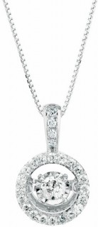 Everlight-Pendant-with-033-Carat-TW-of-Diamonds-in-10ct-White-Gold on sale