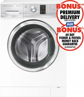 Fisher-Paykel-8kg-Front-Load-Washer on sale