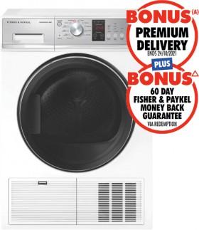 Fisher-Paykel-8kg-Condenser-Dryer on sale