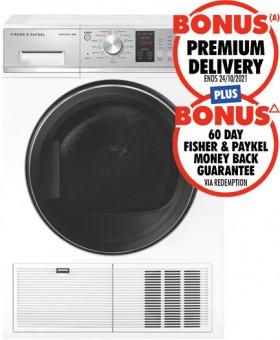 Fisher-Paykel-8kg-Heat-Pump-Dryer on sale