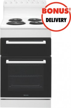 Technika-54cm-Electric-Upright-Cooker-White on sale