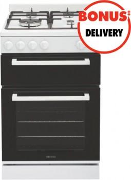 Technika-54cm-Gas-Upright-Cooker-White on sale