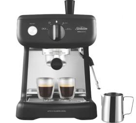 Sunbeam-Mini-Barista-Espresso-Machine-Black on sale