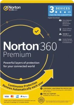 Norton-360-Premium-Internet-Security-3-Device-12-Month on sale