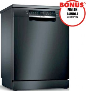 NEW-Bosch-60cm-Freestanding-Dishwasher-Black-Inox on sale