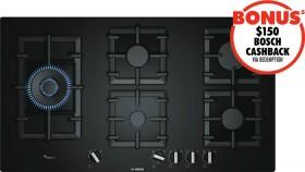 Bosch-90cm-FlameSelect-Gas-Cooktop on sale
