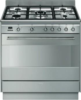Smeg-90cm-Freestanding-Cooker-Stainless-Steel on sale