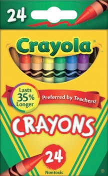 Crayola-24-Pack-Crayons on sale