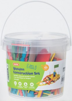 Kadink-Coloured-Wooden-Construction-Bucket on sale