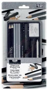 Royal-Langnickel-Sketching-Pencil-Tin-Art-Set-13-Pack on sale