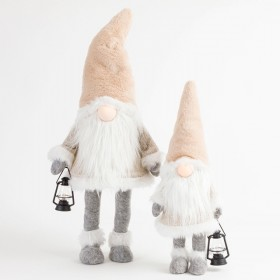 Natural-Nordic-Gnome-with-Lantern-by-Habitat on sale