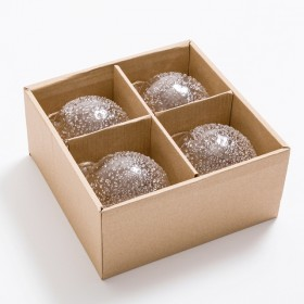 Cristelle-Glass-Bauble-Pack-of-4-by-Habitat on sale