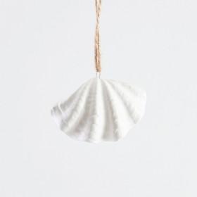 Coastal-Clam-Shell-Christmas-Decoration-by-Habitat on sale