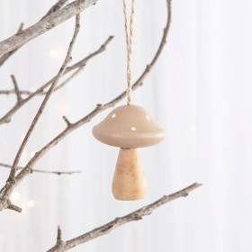 Toadstool-Hanging-Decoration-by-Habitat on sale