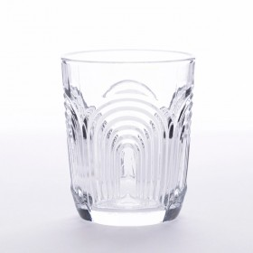 Brooklyn-Glass-Tumbler-Set-of-4-by-MUSE on sale