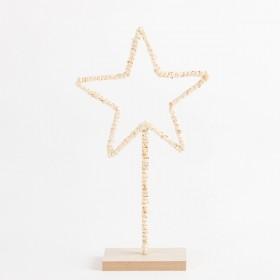 Paloma-Star-Standing-Decoration-by-Habitat on sale