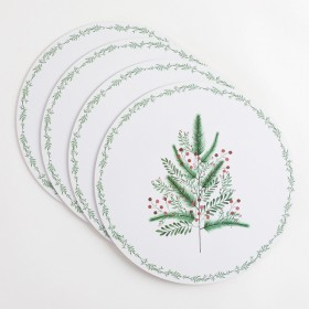 Berry-Christmas-Placemat-Pack-of-4-by-MUSE on sale