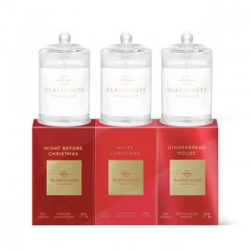 Christmas-60g-Candle-Trio-by-Glasshouse on sale
