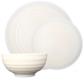 Jamie-Oliver-Rippled-Circles-Dinner-Sets-12pc on sale