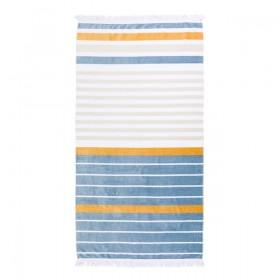 Sundays-Aegean-Beach-Towel-by-Pillow-Talk on sale