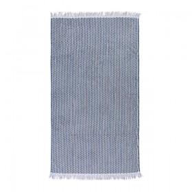 Sundays-Palomitas-Navy-Beach-Towel-by-Pillow-Talk on sale