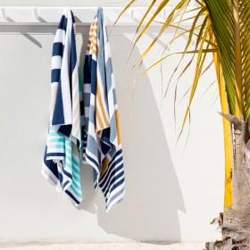 Sundays-Corfu-Australian-Cotton-Beach-Towel-by-Pillow-Talk on sale