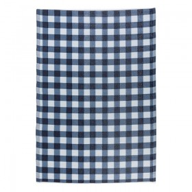 Sundays-Gingham-Outdoor-Mat-by-Pillow-Talk on sale