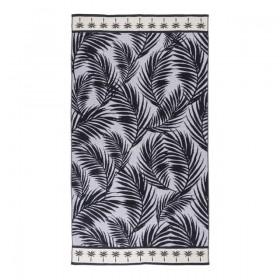 Sundays-Palmer-Black-Beach-Towel-by-Pillow-Talk on sale