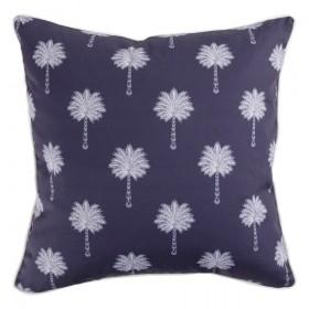 Sundays-Mauritia-Navy-Outdoor-Cushion-by-Pillow-Talk on sale