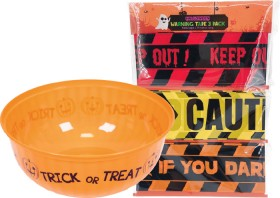 Halloween-Candy-Bowl-Warning-Tape-Pk-3-or-Assorted-Black-Creatures on sale