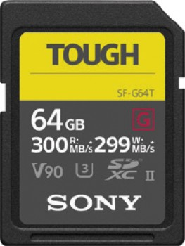 Sony-64GB-SF-G-Tough-Series-UHS-II-Memory-Card on sale