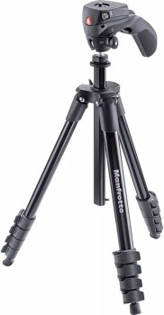 Manfrotto-MKCOMPACTACN-BK-Compact-Action-Tripod on sale