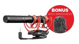 Rode-VideoMic-NTG-On-Camera-Shotgun-Microphone on sale