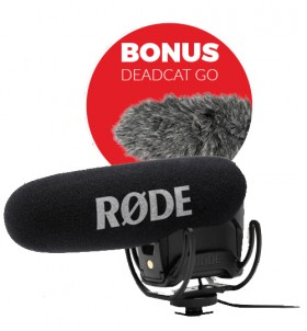 Rode-VideoMic-PRO-On-Camera-Directional-Microphone on sale