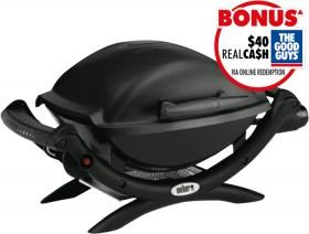 Weber-Baby-Q-LPG-Black on sale